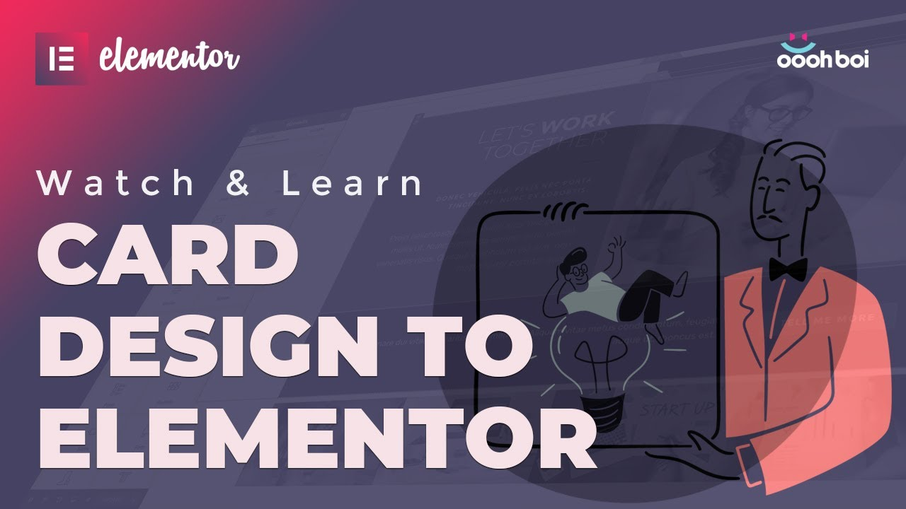 Card Design to Elementor, Create The Layout Step By Step