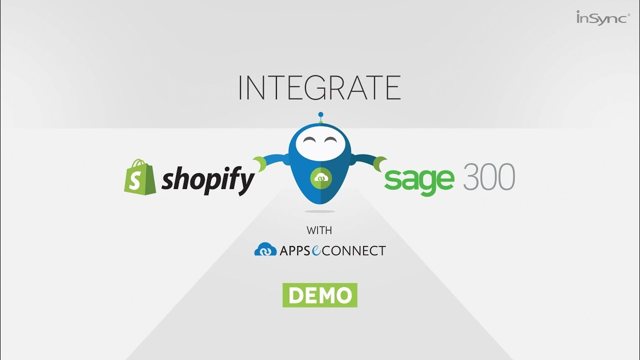 Integrate Sage 300 ERP and Shopify Ecommerce Store | APPSeCONNECT