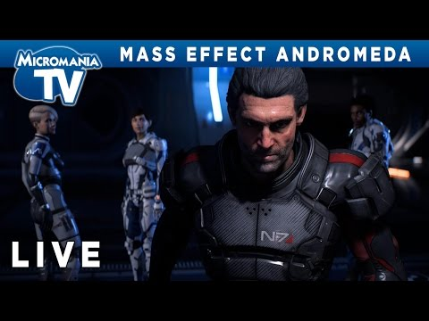 [LIVE] Mass Effect Andromeda se dévoile sur Xbox One !