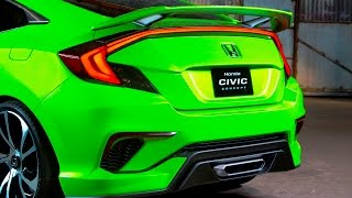 Honda Civic Concept at New York International Auto Show