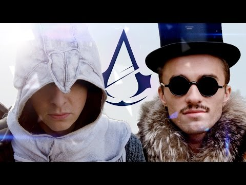mucoc�le norman - assassin des templiers ft squeezie 4k