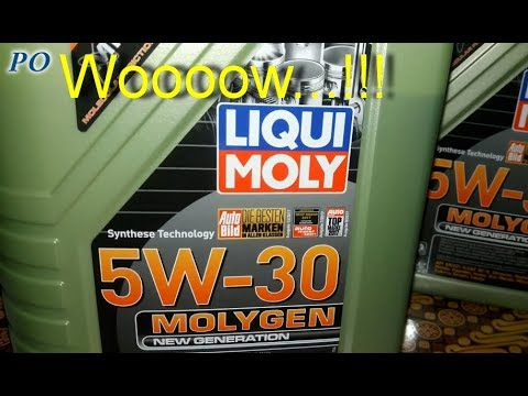liqui moly 5w30 molygen new generation oil youtube. Black Bedroom Furniture Sets. Home Design Ideas
