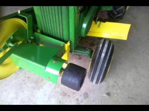 110 John Deere Tractor Wiring Diagram John Deere 110 With 540 Pto Youtube