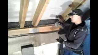 Ocieplenie dachu i zabudowa g/k poddasza  - cz.1 murbelka, murłata