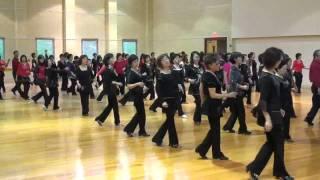 Spanish Cha, Line Dance