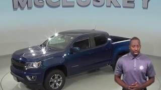 190305 New 2019 Chevrolet Colorado Z71 4WD Crew Cab Blue Test Drive, Review, For Sale -