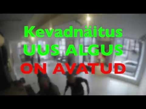 TALLINN ART SPACE'i KEVADNÄITUSE AVAMISEST VIDEO