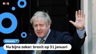 Partij van Boris Johnson wint Britse verkiezingen