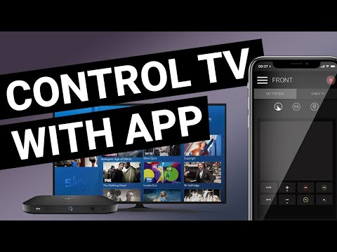 Control All Your TV, AVR And Devices Like Sky Or Apple TV, Foxtell Or Any Device Via App