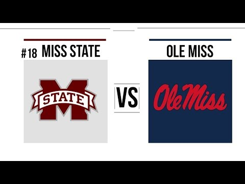 Week 13 2018 #18 Mississippi State vs Ole Miss Full Game Highlights