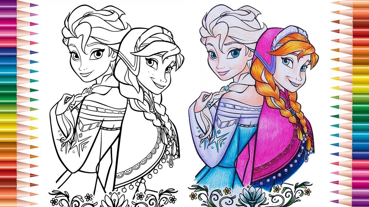 Frozen Desenhos Para Colorir Colorindo Desenhos Livro