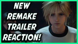 New Final Fantasy 7 Remake Theme Song Trailer Reaction Video