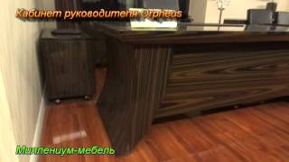 Дизайн проект интерьера. Офисная мебель в кабинет руководителя ORCHEUS(, 2013-03-02T23:38:56.000Z)