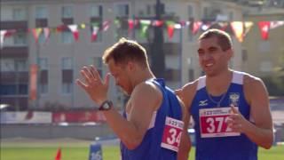 24 07 2017 ATHLETICS 400m Hurdles Final Men HIGHLIGHTS