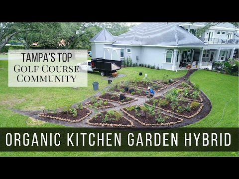 ORGANIC KITCHEN GARDEN HYBRID in Tampa's Top Golf Course Community