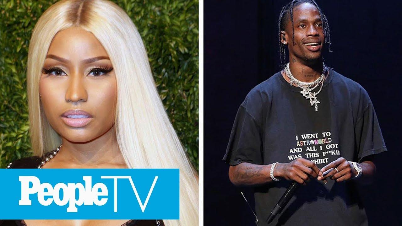 0d27a1953b Nicki Minaj Accuses Travis Scott Of Using Kylie Jenner To Promote His Album