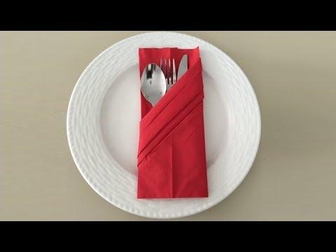 DIY - Napkin Folding