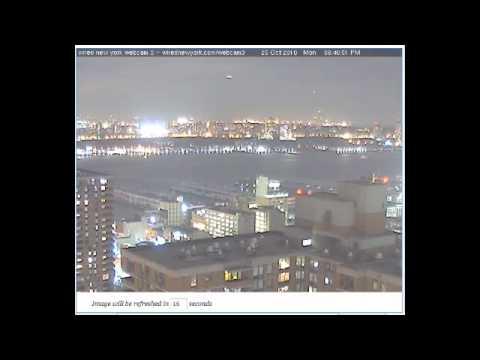 UFO NYC WEBCAM 26.10.2010
