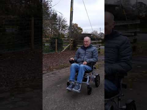 Customer Video (Ray Blackmore) SMART CHAIR X at his country home