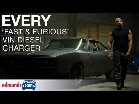 Every Vin Diesel Fast & Furious Charger