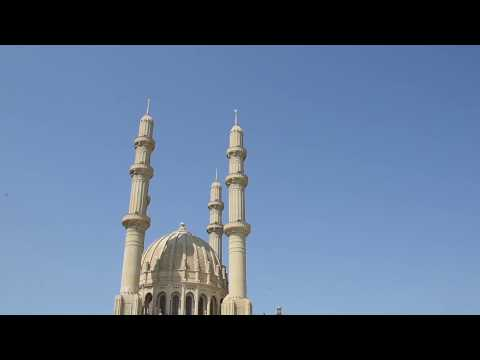 Adelanto De EL Cálamo Tv Pública En Azerbaiyán Baku Visitamos La Mezquita Heydar
