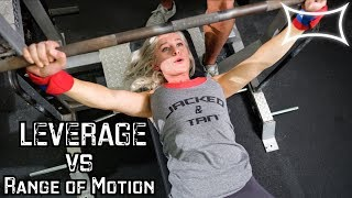 Leverage vs. Range of Motion - Which Benchpress Grip is Better? ft. Swoleesi