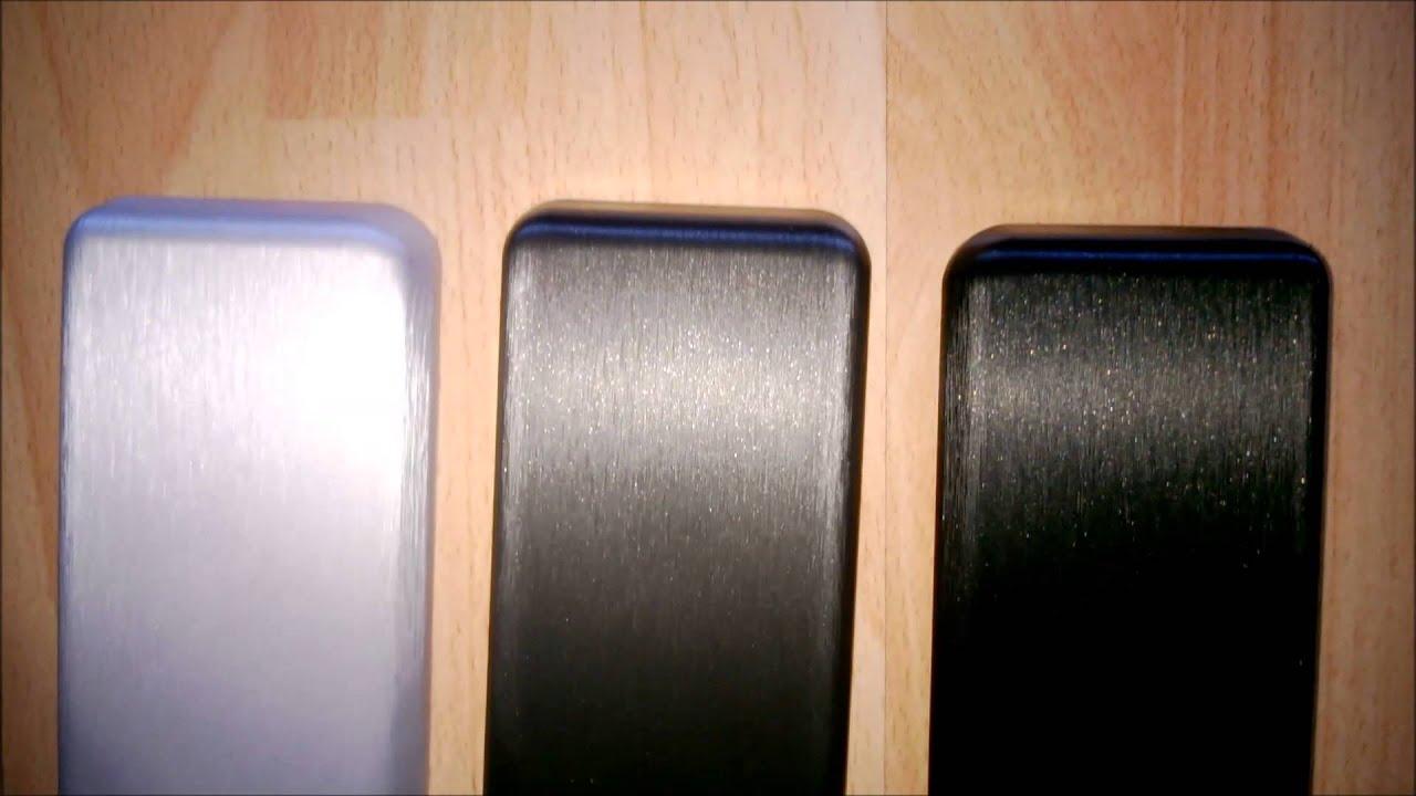 Silver Grey Black Brushed Aluminium Vinyl Wrap Film