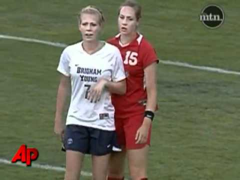 Raw Video: Soccer Player Throws Fist, Pulls Hair