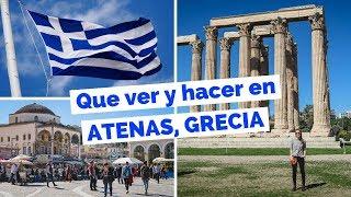 15 Cosas Que Ver y Hacer en Atenas, Grecia Guía Turística