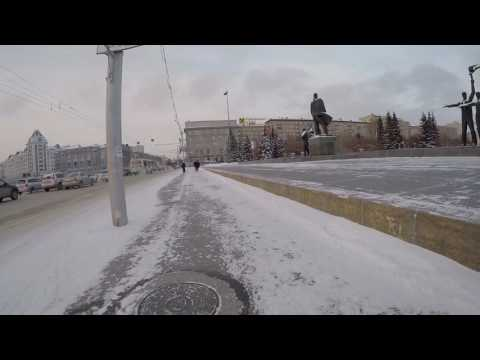 Winter Bicycle -  Russia, Novosibirsk