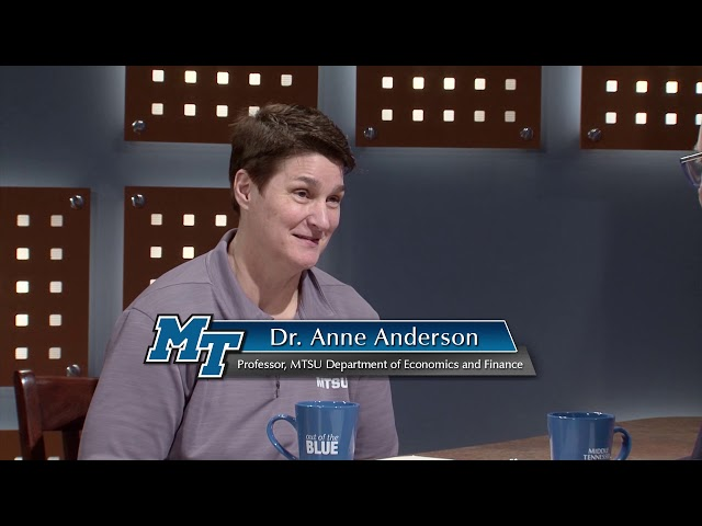 Financial Literacy Month feat. Dr. Anne Anderson - Out of the Blue (April 2020)
