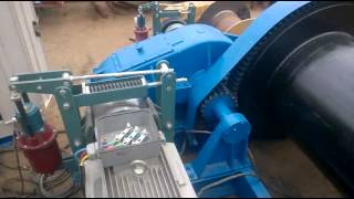 High Speed Running Winch Braking Test