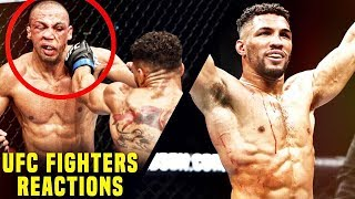 UFC Fighters React To Kevin Lee's TKO Win Over Edson Barboza, Frankie Edgar's Win & More
