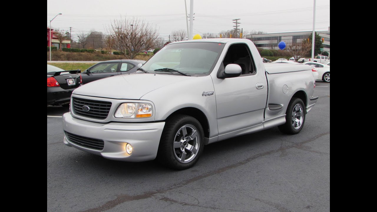 2001 Ford F 150 SVT Lightning Start Up Borla Exhaust And In Depth Review