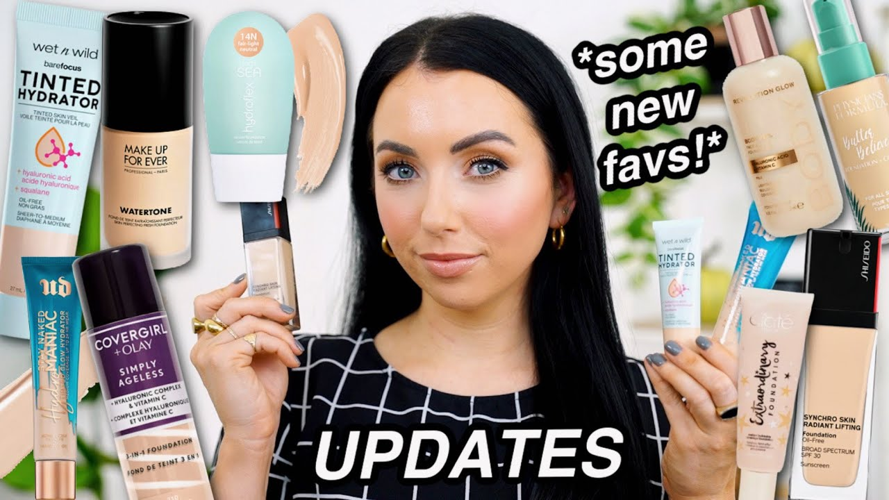 LOVE? HATE? NEVER USING AGAIN?! 👍🏻 👎🏻 Foundation Updates! Drugstore & High End