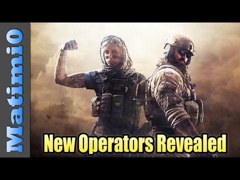 New Operators Revealed - Rainbow Six Siege DLC