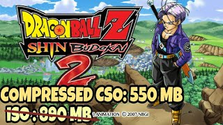 HIGHLY COMPRESSED DRAGON BALL Z SHIN BUDOKAI 2 ANOTHER ROAD