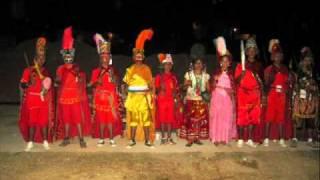 Santa Cruz el Rincón,Gro.Mx-La danza de la conquista