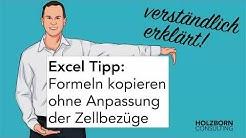 #021 Excel: Formeln kopieren ohne Anpassung der Zellbezüge - Alternative zu absoluten Bezügen Tipp