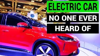 Electric Car No One Ever Heard Of: Xpeng Motors at CES 2018