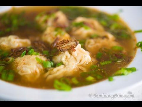 Chicken Molo Soup Recipe   How To Cook Pancit Molo   Panlasang Pinoy