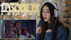 First Time Watching A Star Wars Movie! / Star Wars: A New Hope (episode 4) Reaction