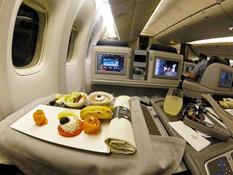 Turkish Airlines B777-300ER Business Class Istanbul- Dubai