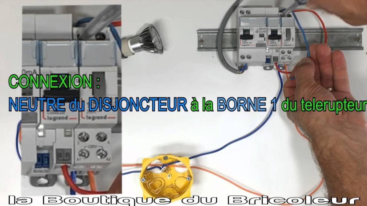 Branchement Dun Télérupteur By Mac Fly