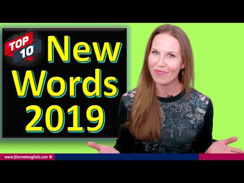 New Words Added To The Dictionary In 2019 - Top 10 New Words