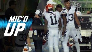 Mic'd Up: Brandon LaFell & Reshad Jones (Week 4)   Sound Fx   NFL Films