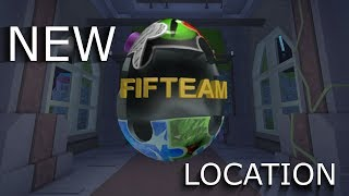 ROBLOX | FIFTEAM EGG | NEW PUZZLE PIECES LOCATIONS!!1