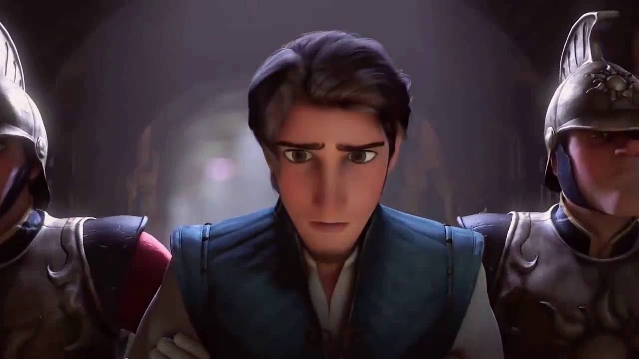 Disney Tangled Flynn Escapes Prison Youtube