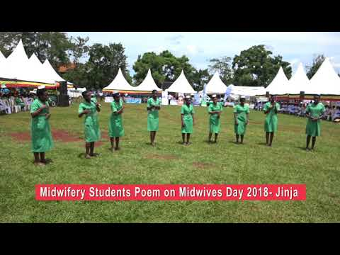 Midwives leading the way with quality of care POEM at Midwifery Day 2018 Jinja