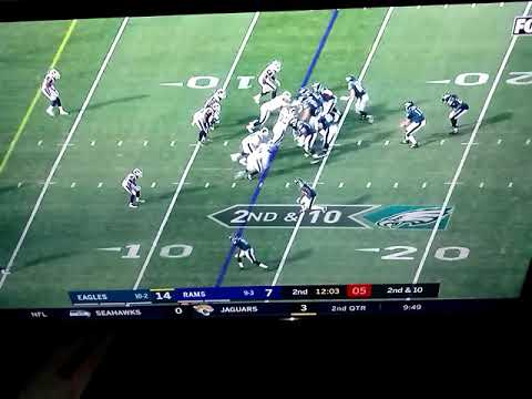 Eagles In a Good Position  To Score Eagles vs Rams !!